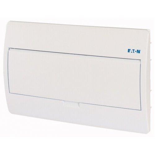 Щит компактный встроенного исполнения 1ряд 18-мод. BC-U-1/18-TW-ECO бел. дверь пластик EATON 281699