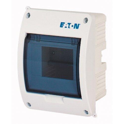 Щит компактный встроенного исполнения 1ряд 5-мод. BC-U-1/5-ECO прозр. дверь пластик EATON 280352