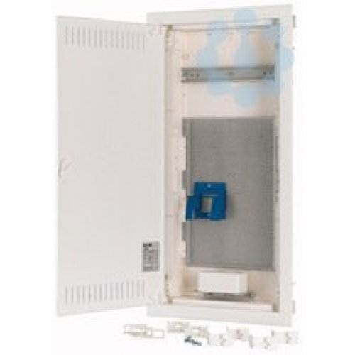Щит компактный медиа встроенного исполнения (полые стены) 4 ряда KLV-48UPM-F стальная дверь EATON 178832
