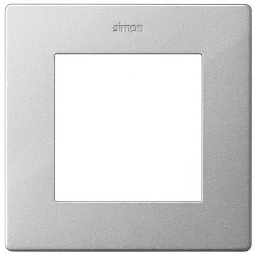 Рамка 1-м Simon24 алюм. 2400610-033