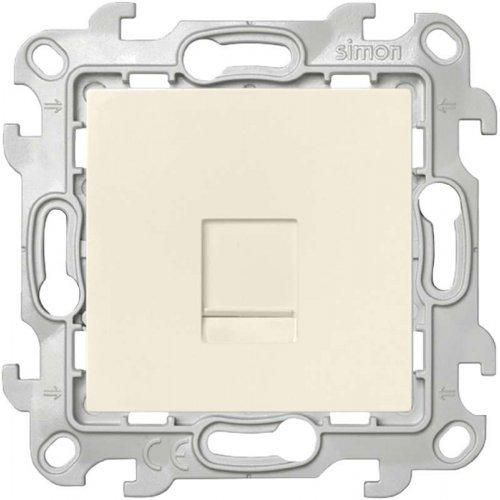 Механизм розетки RJ45 кат. 5e UTP Simon24 сл. кость 2410598-031