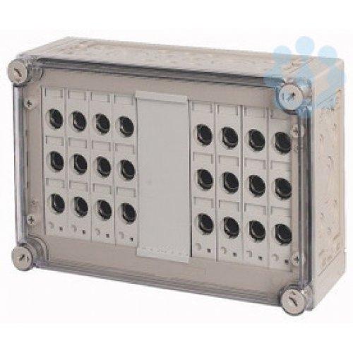 Щит изолированный с предохранителями 8х3хE18 250х375х150мм RS18/I43E EATON 032140