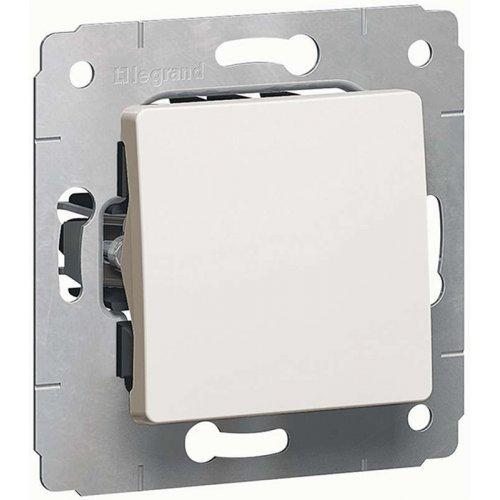 Механизм выключателя 1-кл. СП CARIVA 10А IP20 бел. Leg 773656