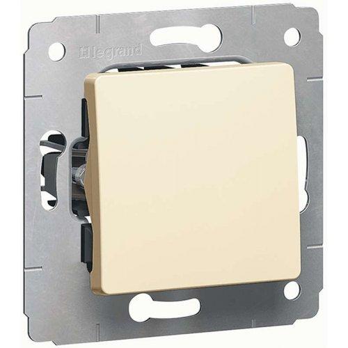 Механизм выключателя 1-кл. СП CARIVA 10А IP20 сл. кость Leg 773756
