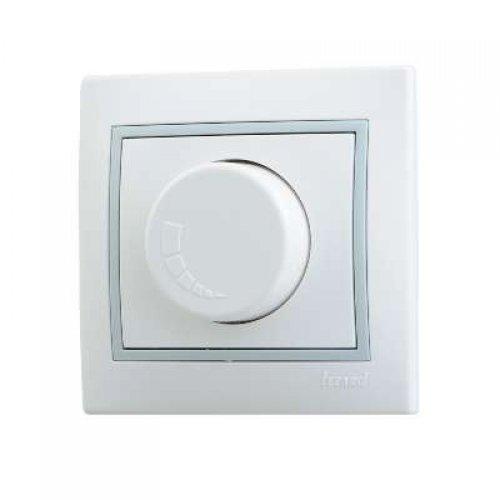 Светорегулятор СП 800Вт Мира бел/сер. Lezard 701-0215-115