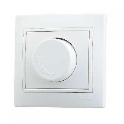 Светорегулятор СП 800Вт Мира бел/бел. Lezard 701-0202-115