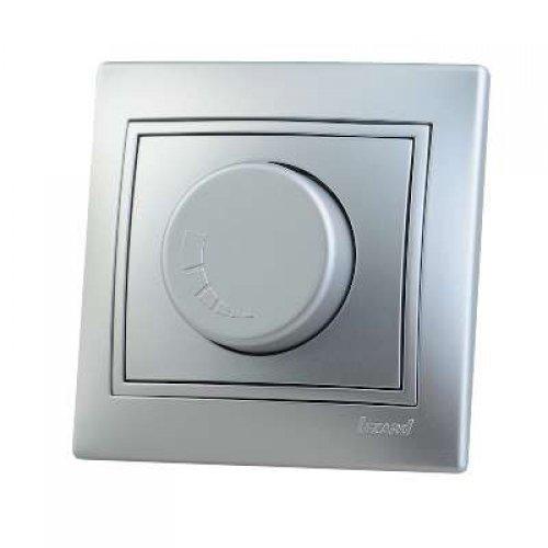 Светорегулятор СП 1000Вт Мира метал. сер. Lezard 701-1010-157