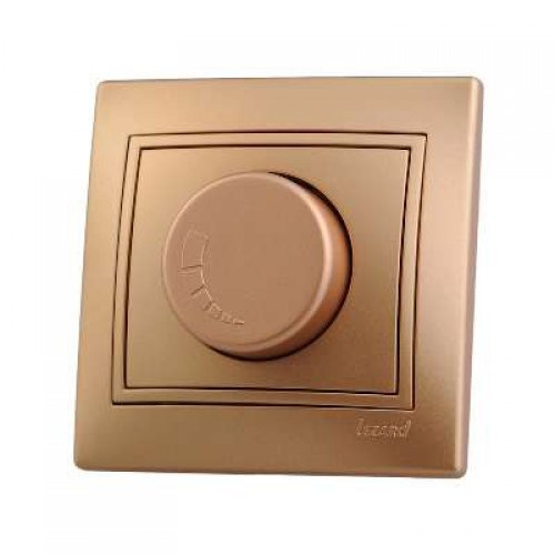 Светорегулятор СП 1000Вт Мира метал. зол. Lezard 701-1313-157