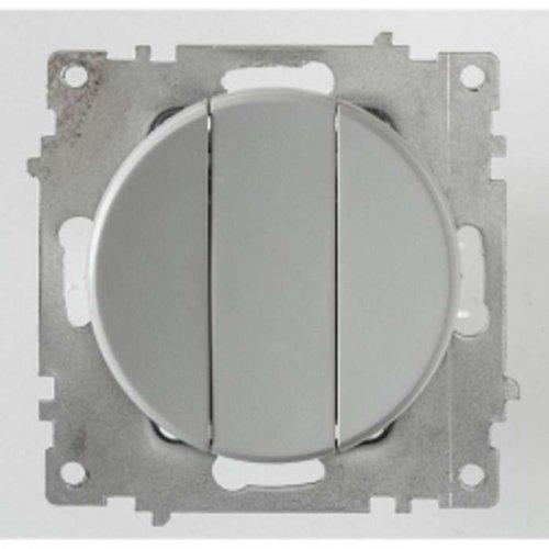Механизм выключателя 3-кл. СП Florence 10А IP20 сер. OneKeyElectro 2172849