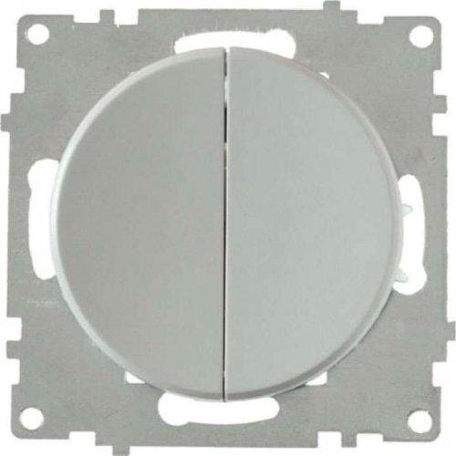 Механизм выключателя 2-кл. СП Florence 10А IP20 сер. OneKeyElectro 2172845