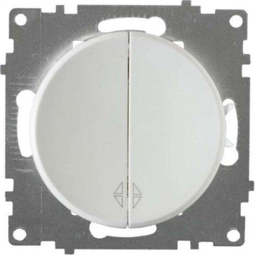 Механизм переключателя 2-кл. СП Florence бел. OneKeyElectro 2172777