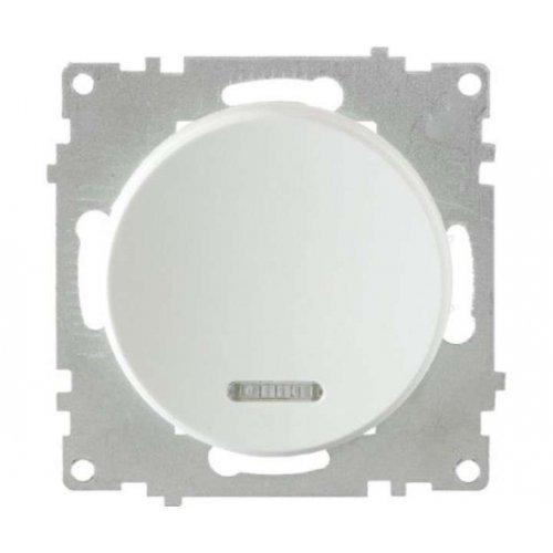 Механизм выключателя 1-кл. СП Florence 10А IP20 с подсветкой бел. OneKeyElectro 2172778
