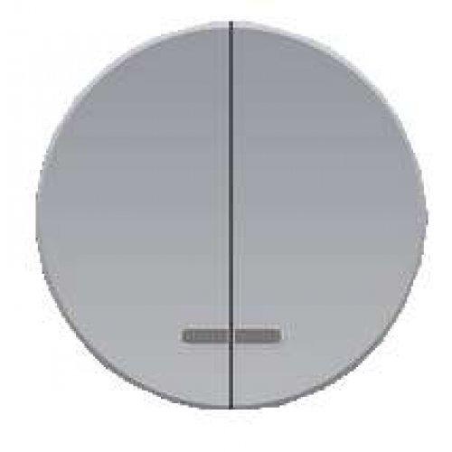 Механизм выключателя 2-кл. СП Florence 10А IP20 с подсветкой сер. OneKeyElectro 2172848