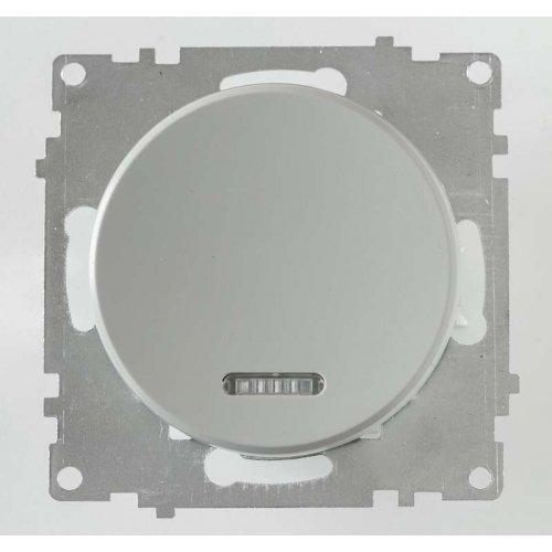 Механизм выключателя 1-кл. СП Florence 10А IP20 с подсветкой сер. OneKeyElectro 2172847