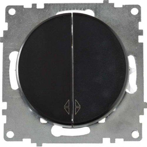Механизм переключателя 2-кл. СП Florence черн. OneKeyElectro 2172823