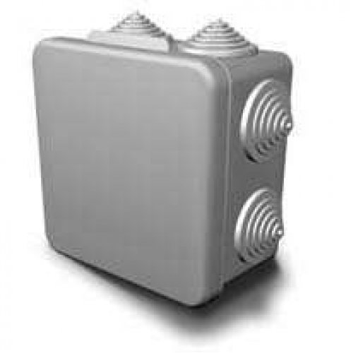 Коробка распределительная ОП 80х80х55мм IP54 ГУСИ С3В87 Евро