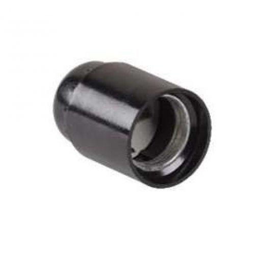 Патрон электрич. E27 Пкб27-04-К01 подвесной карболит. черн. (инд. упак.) ИЭК EPK10-04-02-K01
