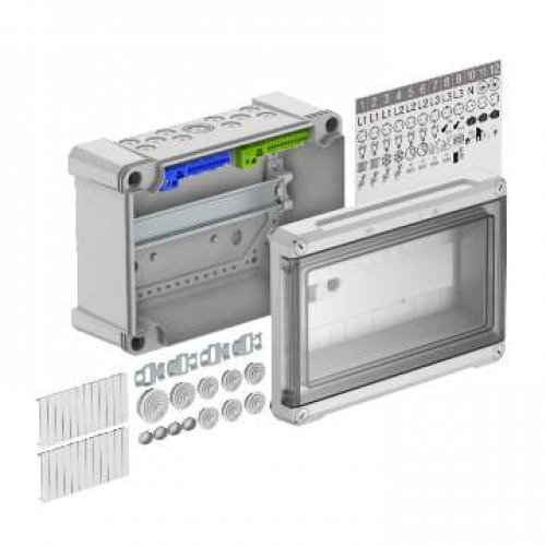 Щиток распред. 286х202х125 на 12 модулей с быстрозажим. клеммами SDB 12 PC OBO 2008852