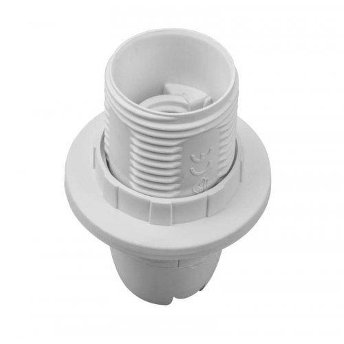 Патрон электрический Navigator 71 602 NLH-PL-R1-E14 пластик люстровый с кольцом