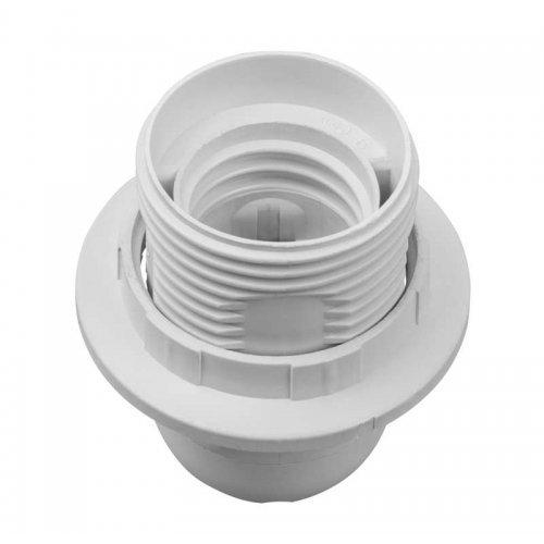 Патрон электрический Navigator 71 603 NLH-PL-R1-E27 пластик люстровый с кольцом