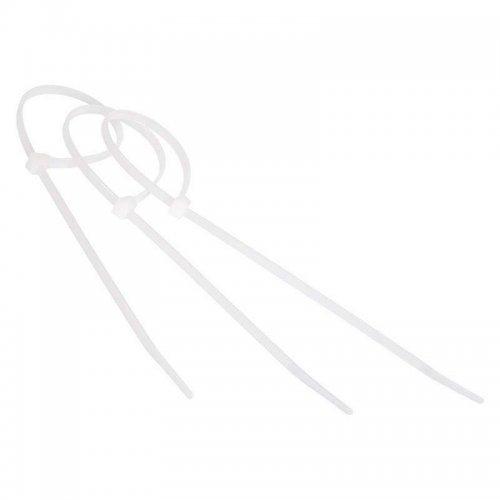 Хомут кабельный 2.5х200 нейл. бел. (уп.100шт) Rexant 07-0200-4